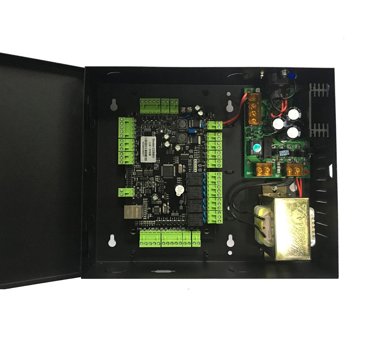 5001三合一控制器(身份证验证门禁和访客管理)
